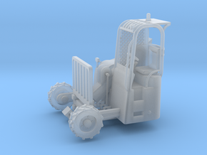 Truck Mounted Forklift 1-87 HO Scale Positional (F in Frosted Ultra Detail: 1:87 - HO