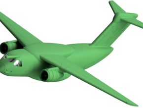 022D EMBRAER KC-390 1/200 in White Natural Versatile Plastic