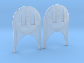 Excelsior/Enterprise-B Dekoid Assembly Of 2 in Smooth Fine Detail Plastic