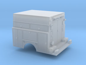 Utility Bed Tool Box Truck 1-87 HO Scale RPS Parts in Frosted Ultra Detail: 1:87