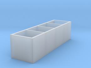 Miniature KALLAX Storage Shelf Unit - IKEA in Smooth Fine Detail Plastic: 1:48 - O