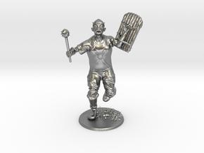 Goblin Miniature in Natural Silver: 1:60.96