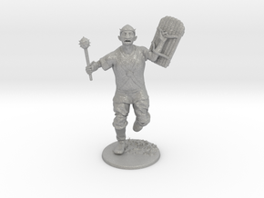 Goblin Miniature in Raw Aluminum: 1:60.96