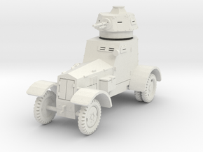 PV148A wz34 Armored Car (28mm) in White Strong & Flexible