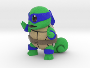 Ninja Squirtle, Leo in Full Color Sandstone