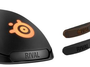 Steelseries Rival 300 Customisable Nameplate in Black Strong & Flexible