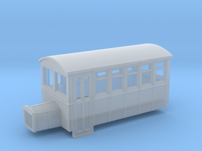 TTn3 4 wheeled railbus version 1 in Frosted Ultra Detail