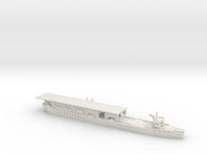 USS Langley 1/700 in White Natural Versatile Plastic