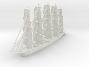 Preussen in White Natural Versatile Plastic: 1:1000