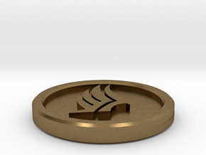 Paragade Coin in Natural Bronze