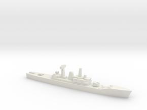 Leander-class frigate, 1/1800 in White Natural Versatile Plastic
