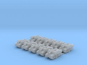 1/400 British Sexton II (10) in Smooth Fine Detail Plastic