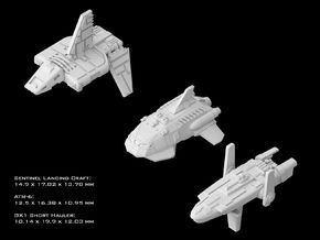 (Armada) Transports Set II in Smooth Fine Detail Plastic