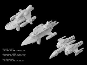 (Armada) Transports Set III in Smooth Fine Detail Plastic