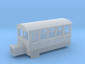 55n9 4 wheeled railbus version 2 in Frosted Ultra Detail