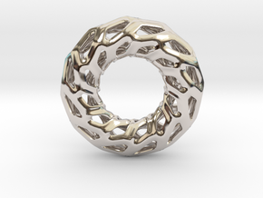 DRAGON, Omega Pendant. Solid Structure. Perfect Co in Platinum