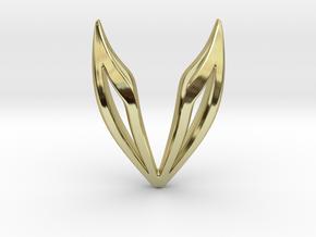 sWINGS Simplified, Pendant in 18k Gold