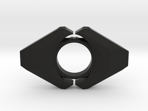 Andronus2 in Black Natural Versatile Plastic
