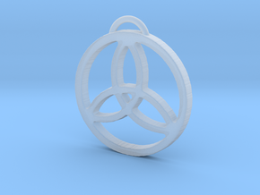 Elegant Triquetra by ~M. in Smooth Fine Detail Plastic
