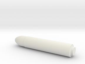 1/200 Scale UGM-96 Trident I C4 SLBM in White Natural Versatile Plastic
