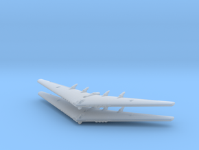 YB-35 Flying Wing- (Global War)- (Qty. 2) in Smooth Fine Detail Plastic