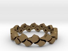 Black Pineapple Ring in Natural Bronze: 12.5 / 67.75