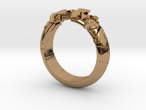 Ring explosion.  in Polished Brass