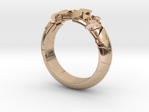 Ring explosion.  in 14k Rose Gold