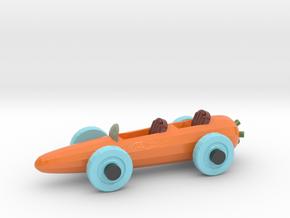 Carrot Car 3 in Coated Full Color Sandstone