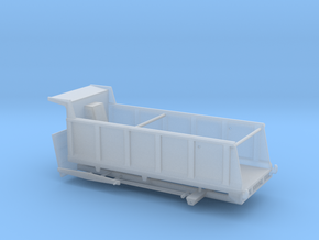 164th Large 20' Dump truck body, 25/27 yard in Smooth Fine Detail Plastic