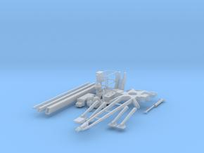 H0 1:87 Anhänger-Arbeitsbühne in Smooth Fine Detail Plastic