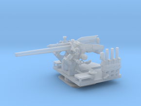 1/200 USN 5 inch 25 (12.7 cm) AA Gun in Smooth Fine Detail Plastic