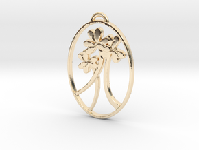 Clover Trio by Gabrielle in 14K Yellow Gold