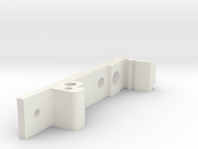 Din Mount Holes Pt# MMM-DM-FC in White Natural Versatile Plastic