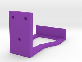 Wall Mounted Controller Holder in Purple Strong & Flexible Polished