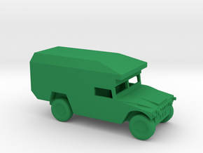 1/144 Scale M997Humvee Maxi-Ambulance M997 in Green Strong & Flexible Polished