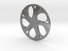 Wheel in Raw Silver