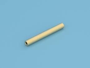 One Hitter - Large in Polished Gold Steel