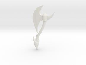 Battle-axe in White Strong & Flexible