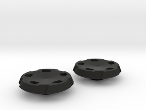 BroConcepts Button 3 in Black Natural Versatile Plastic