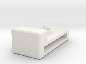 Camera in White Natural Versatile Plastic