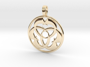 DIAXION in 14K Yellow Gold