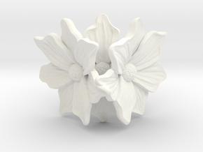Flower of love in White Processed Versatile Plastic: 7 / 54