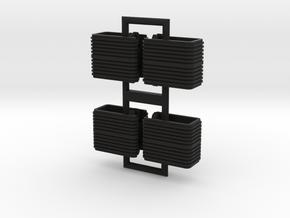 N.04 / N.05 - N scale Waratah Additional Couplers in Black Strong & Flexible