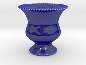 Vase Model A5 in Gloss Cobalt Blue Porcelain