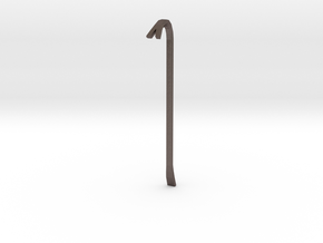 boOpGame Shop - Half-Life Crowbar in Polished Bronzed Silver Steel