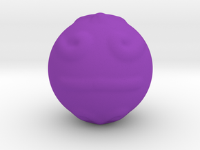 Decorated Ball in Purple Strong & Flexible Polished