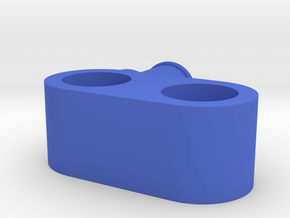Steering part for wheels in Blue Processed Versatile Plastic