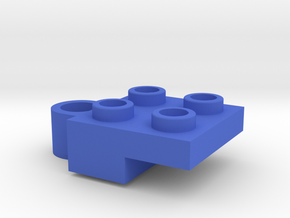 Holder for steering part from top in Blue Processed Versatile Plastic
