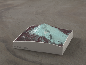 Mt. Fuji, Japan, 1:100000 Explorer in Coated Full Color Sandstone